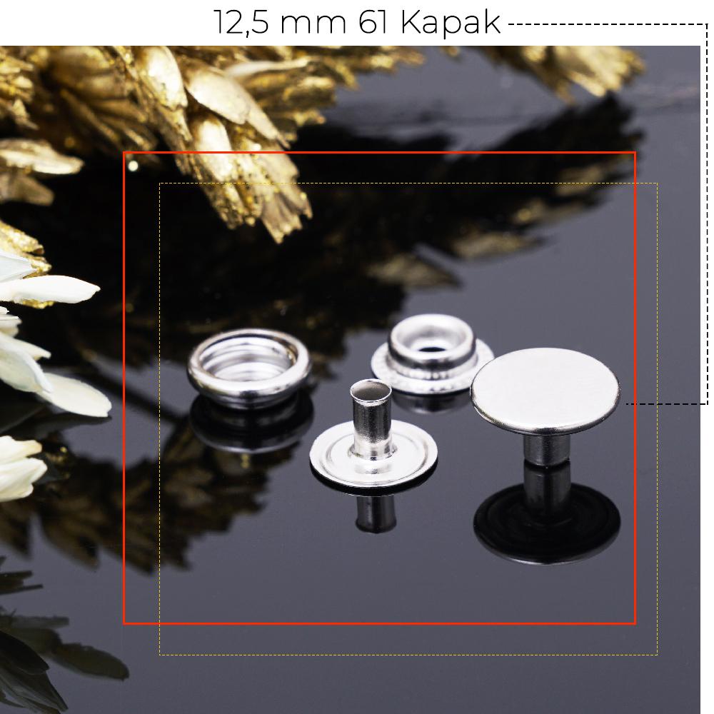 Yeni Üretim - 12,5 mm 61 Kapak