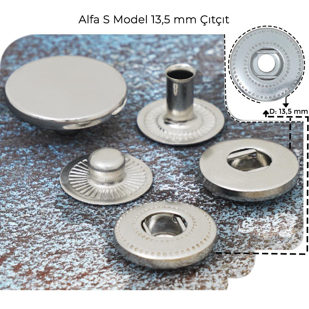 Yeni Üretim - 13,5 mm Alfa S Model Çıtçıt