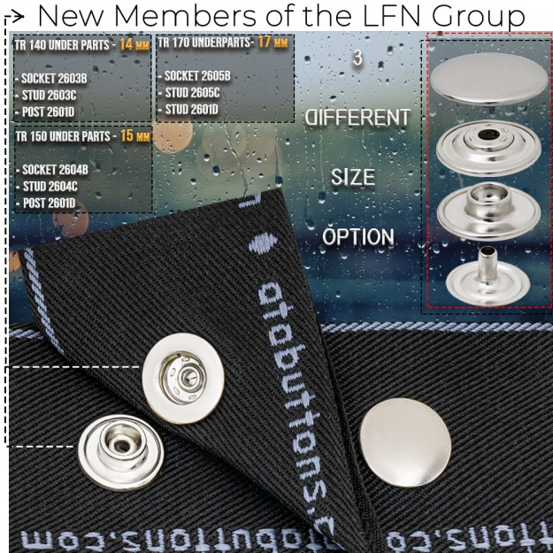 New Production - LFN Group Snap Buttons