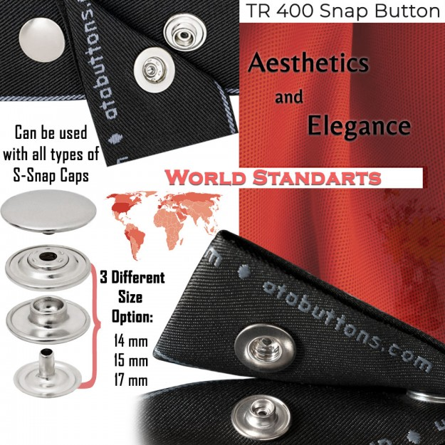 New Production - TR 400 Snap Buttons
